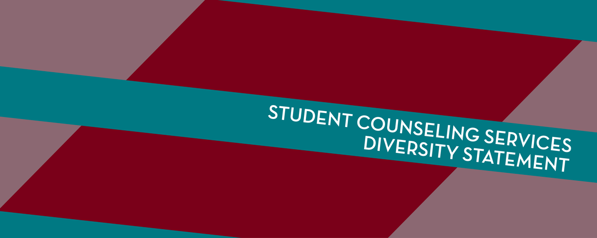 student counseling services diversity statement