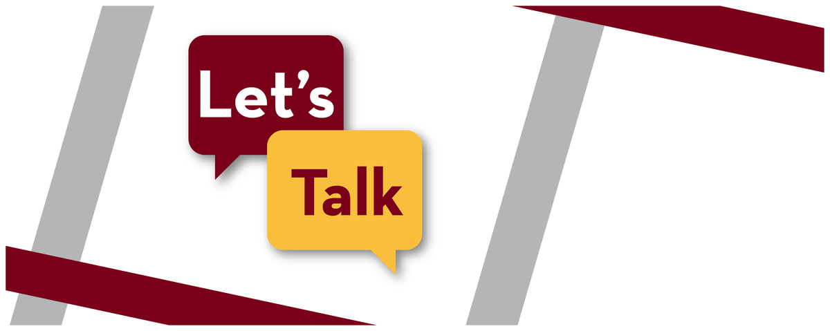 lets talk logo